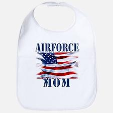 Airforce Mom Bib