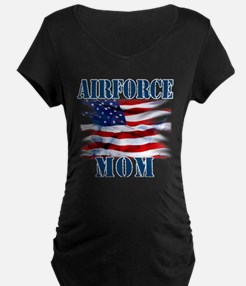 Airforce Mom Maternity T-Shirt