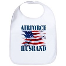 Airforce Husband Bib