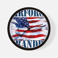 Airforce Grandpa Wall Clock