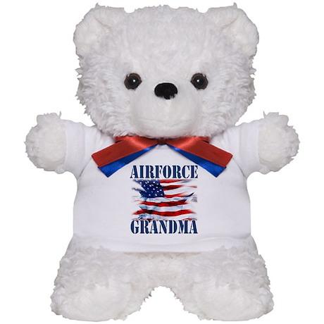 Airforce Grandma Teddy Bear