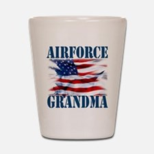 Airforce Grandma Shot Glass