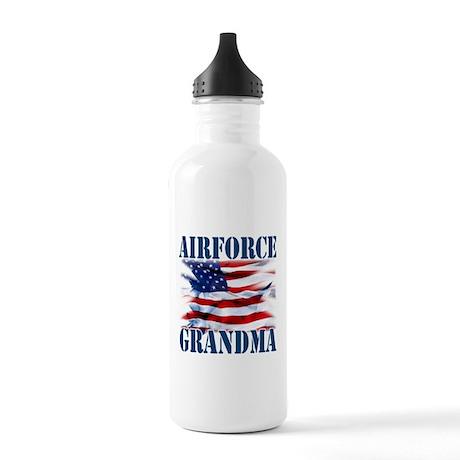 Airforce Grandma Water Bottle