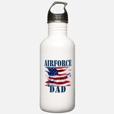 Airforce Dad Water Bottle