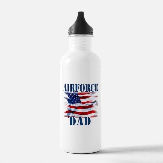 Airforce Dad Water Bottle