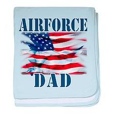Airforce Dad baby blanket