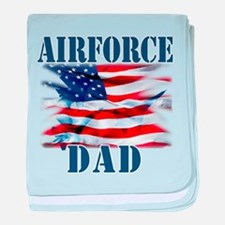 Airforce Dad baby blanket