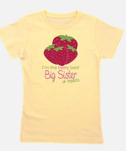 Berry Sister Triplets Girl's Tee
