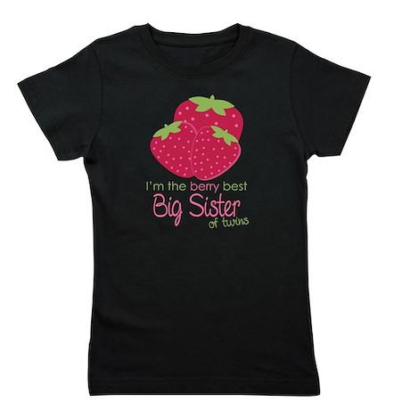 Berry Sister Twins Girl's Tee