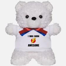 Born Awesome Teddy Bear