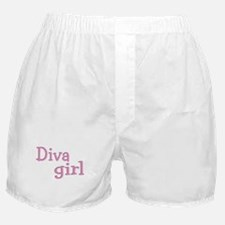 """Diva Girl"" Boxer Shorts"