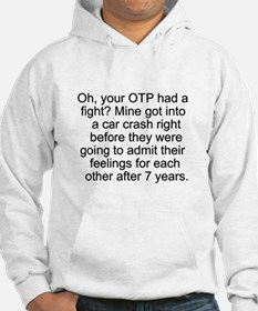 Fight vs Car Crash Hoodie