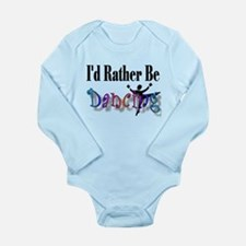 Dancing Dude Long Sleeve Onesie
