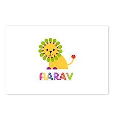 Aarav Loves Lions Postcards (Package of 8)