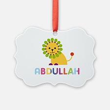 Abdullah Loves Lions Ornament