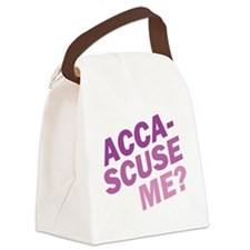 Acca-Scuse Me? Canvas Lunch Bag