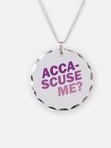 Acca-Scuse Me? Necklace