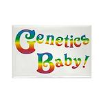 Genetics Baby! Rectangle Magnet
