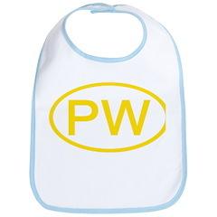 PW Oval - Palau Bib