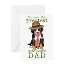 Berner Dad Greeting Card