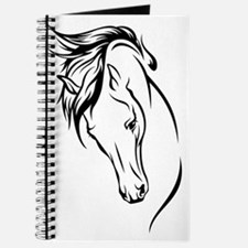 Line Drawn Horse Head Journal