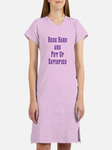 Rode Hard Women's Nightshirt