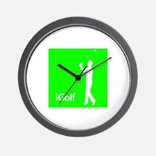 iGolf Wall Clock