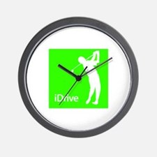 iDrive Wall Clock