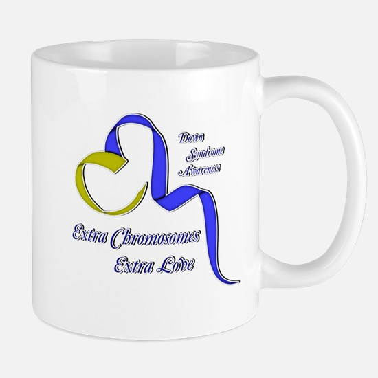 Down Syndrome Awareness Ribbon Mug