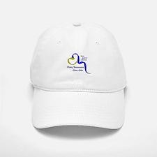 Down Syndrome Awareness Ribbon Baseball Baseball Baseball Cap