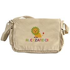 Alexzander Loves Lions Messenger Bag