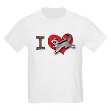 I heart sugar gliders Kids T-Shirt