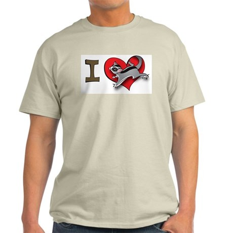 I heart sugar gliders Light T-Shirt