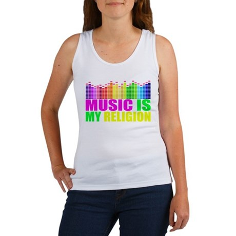 Music is My Religion Shirt Tank Top