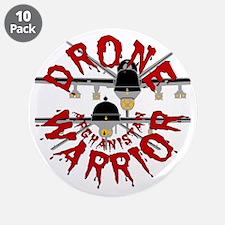 "Drone Warrior 3.5"" Button (10 pack)"