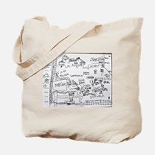 His World, Reduced Tote Bag