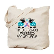 Thyroid Cancer Support Mom Tote Bag