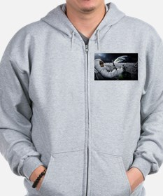 The World at Large Zip Hoodie