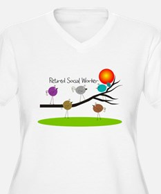 Retired Social worker A Plus Size T-Shirt