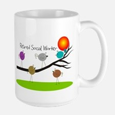 Retired Social worker A Mug