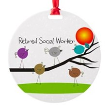 Retired Social worker A Ornament