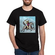Valkyrie Amazon Warrior Riding Horse T-Shirt