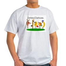dietician birds 7 retired T-Shirt