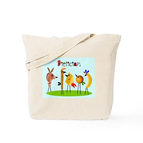 dietician birds 3 Tote Bag