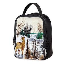 Deer Neoprene Lunch Bag