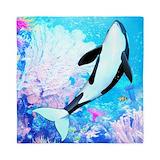 Killer whale queen Queen Duvet Covers