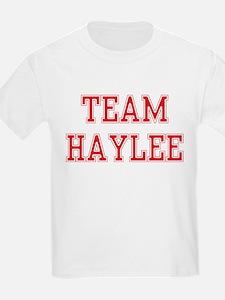 TEAM HAYLEE  Kids T-Shirt