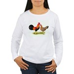 Leghorns Women's Long Sleeve T-Shirt