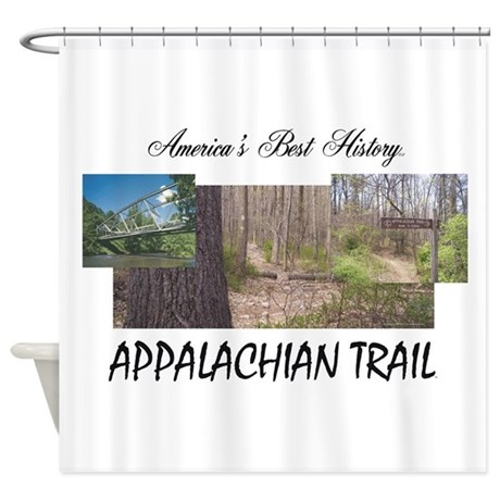 Appalachian Trail Americabesthistor Shower Curtain