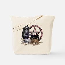 Wiccan Pentacle Tote Bag
